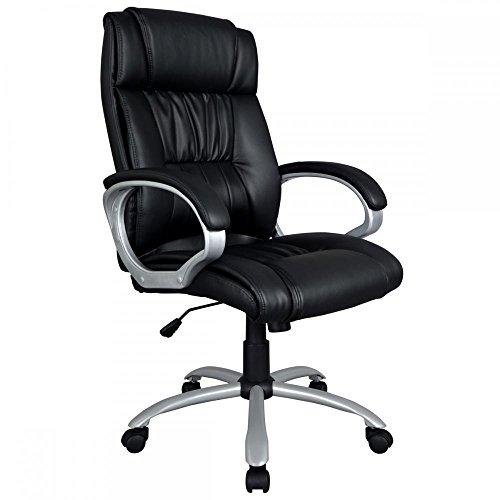 Modern High Back Leather Executive Office Desk Task