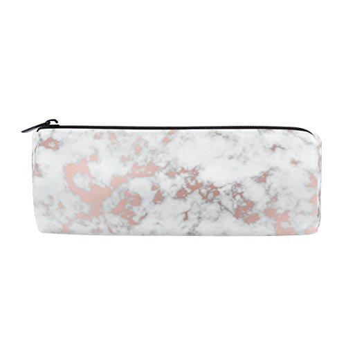 Alaza Marble Rose Gold Texture Pen Pencil Case Bag Purse