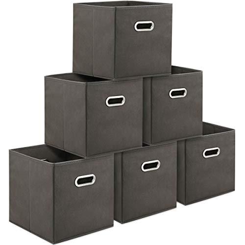 TomCare Storage Cubes Foldable Fabric Cube Storage Bins ...