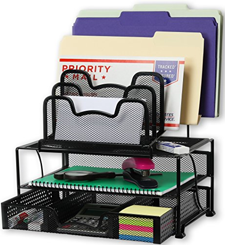 Increased Depth Provides More Organization Space Than Typical Organizing Tray Neat Desk Drawer Organizer Enhances Your S