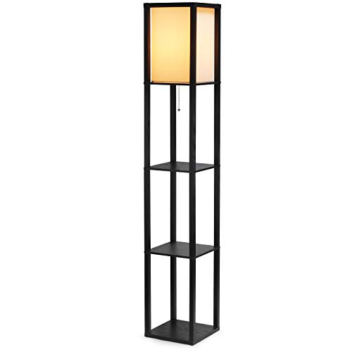 Shine Hai Shelf Floor Lamp Shade Diffused Light Source With Open