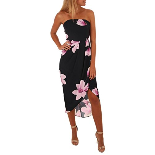f83408d60434 Jushye Women's Mini Dress, Ladies Summer Floral Ruffles Dress Off ...