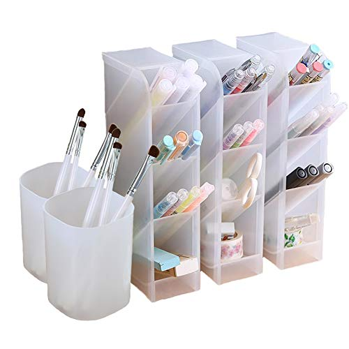 5 Pcs Desk Organizer- Pen Organizer Storage for Office ...